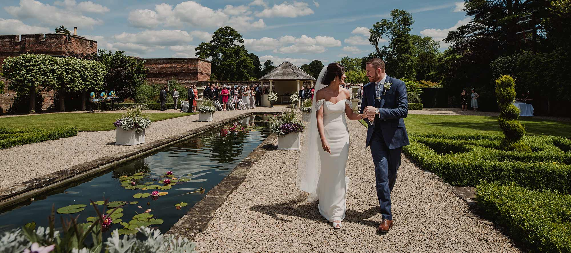 Wedding at Arley House and Gardens