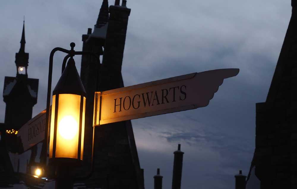 Hogwarts Signpost
