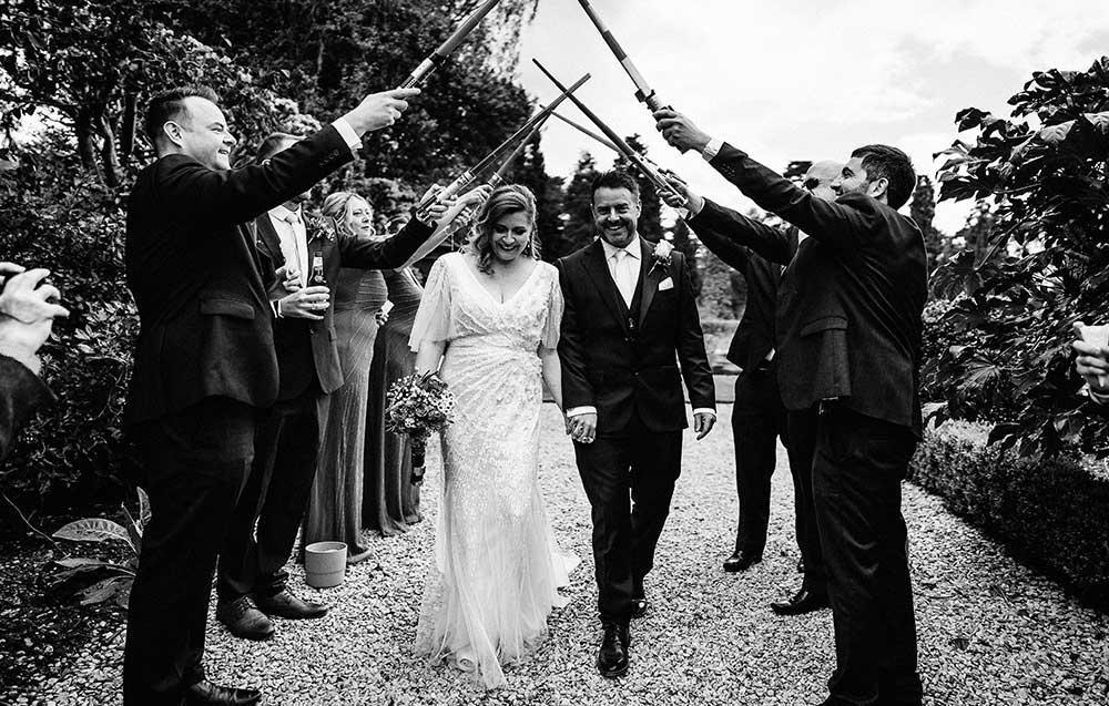 Wedding at Arley House