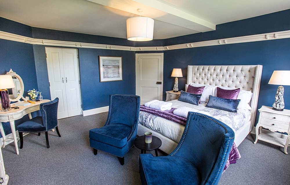 Blue suite at The Grange